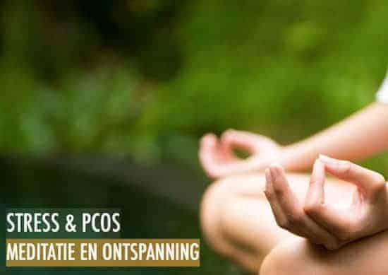 Meditatie en ontspanning bij PCOS