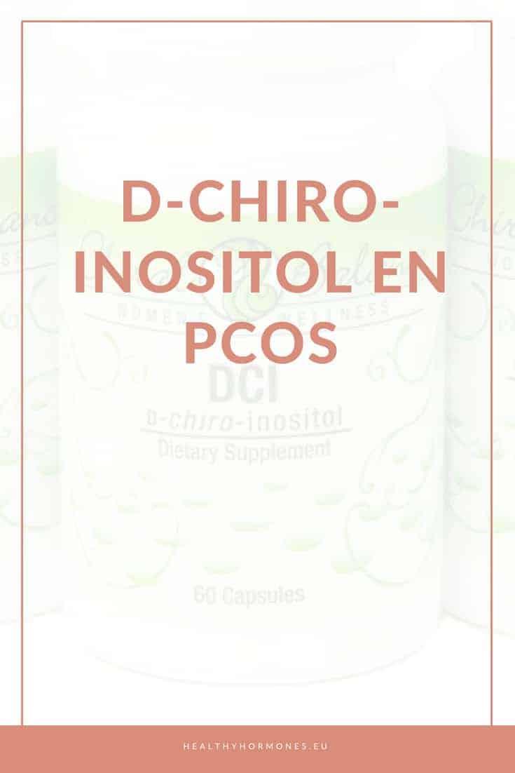 D Chiro Inositol en PCOS