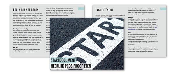 PCOS dieet Start-document