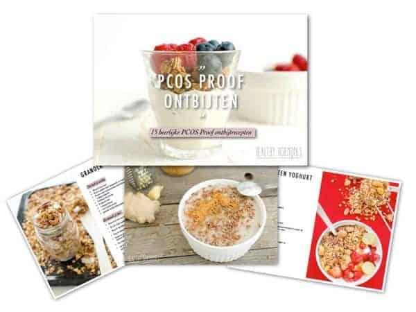 PCOS dieet ontbijtrecepten Healthy Hormones