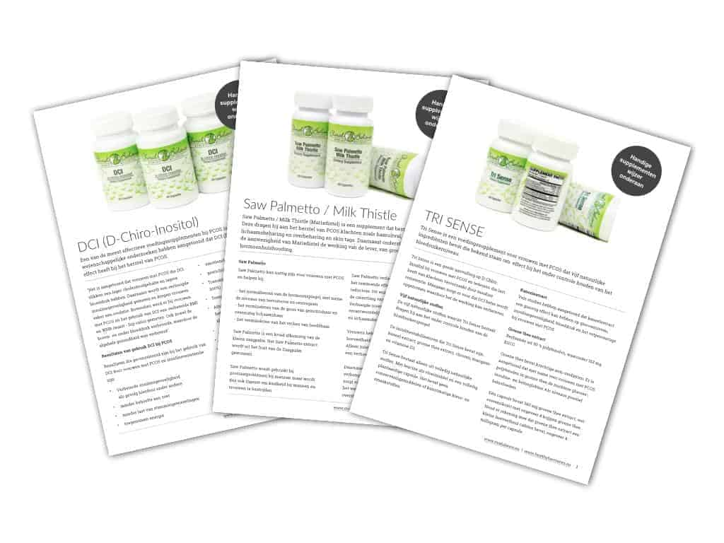 PCOS supplementen Healthy Hormones
